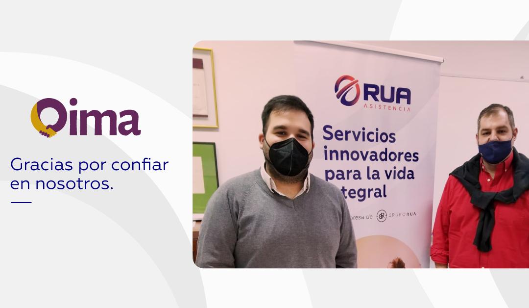Bienvenido OIMA Créditos a RUA Asistencia Paraguay